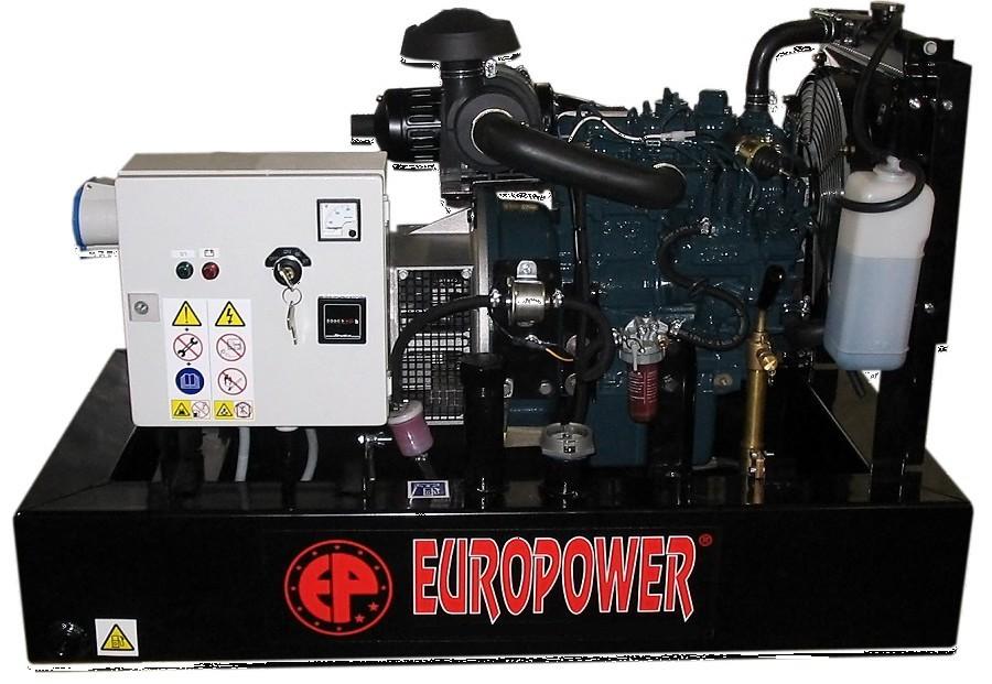 Генератор дизельный Europower EP 30 DE в Плавске