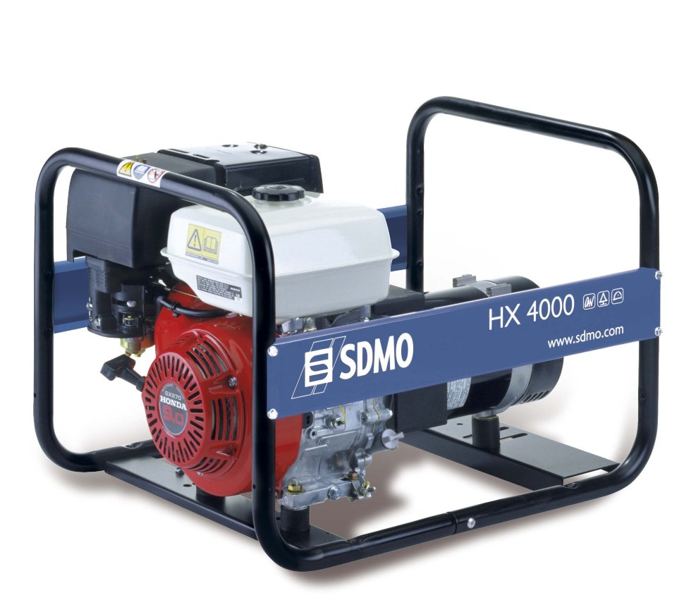 Генератор SDMO HX 4000-S в Плавске